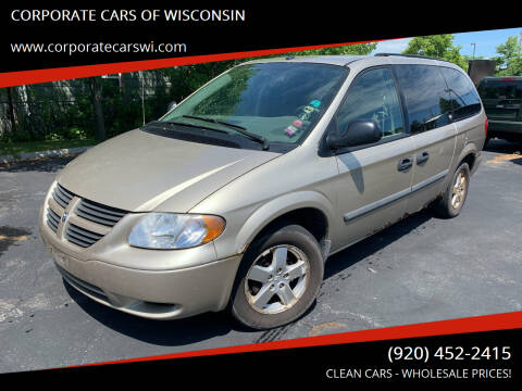 2007 Dodge Grand Caravan for sale at CORPORATE CARS OF WISCONSIN in Sheboygan WI