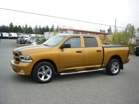 2012 RAM Ram Pickup 1500 for sale at NORTHWEST AUTO SALES LLC in Anchorage AK