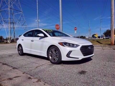 2017 Hyundai Elantra for sale at SUPER DEAL MOTORS in Hollywood FL