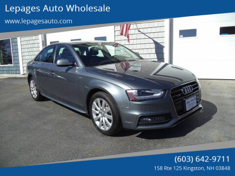2015 Audi A4 for sale at Lepages Auto Wholesale in Kingston NH
