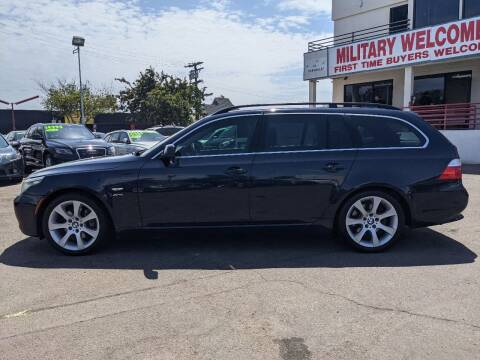 2010 BMW 5 Series for sale at Convoy Motors LLC in National City CA