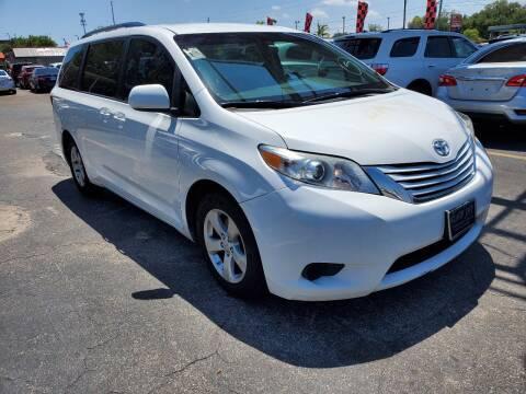 2015 Toyota Sienna for sale at America Auto Wholesale Inc in Miami FL
