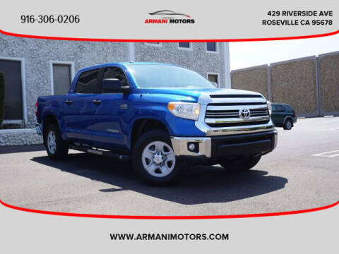 2017 Toyota Tundra for sale at Armani Motors in Roseville CA