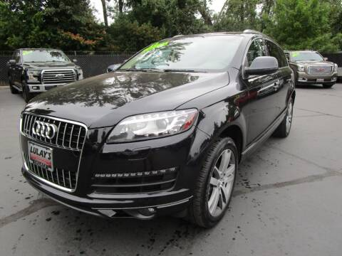 2013 Audi Q7 for sale at LULAY'S CAR CONNECTION in Salem OR