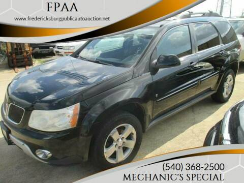2006 Pontiac Torrent for sale at FPAA in Fredericksburg VA