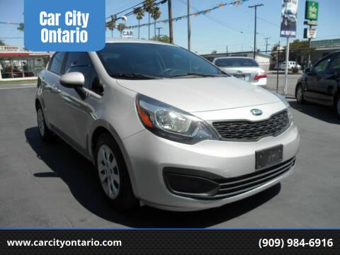 2015 Kia Rio for sale at Car City Ontario in Ontario CA