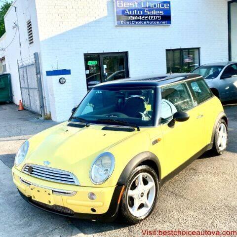 2004 MINI Cooper for sale at Best Choice Auto Sales in Virginia Beach VA