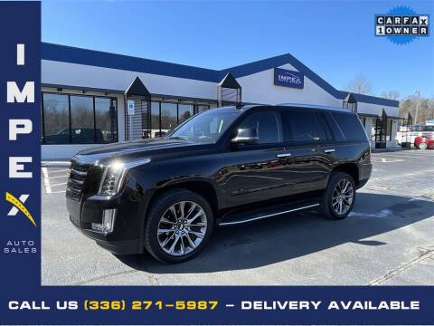 2019 Cadillac Escalade for sale at Impex Auto Sales in Greensboro NC