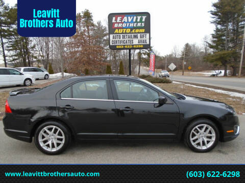2012 Ford Fusion for sale at Leavitt Brothers Auto in Hooksett NH