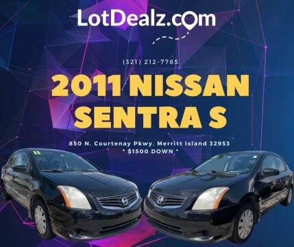 2011 Nissan Sentra for sale at ROCKLEDGE in Rockledge FL