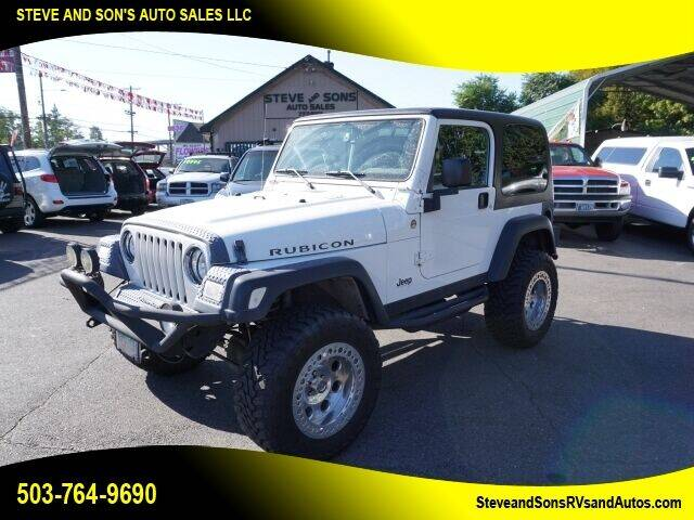 2006 Jeep Wrangler for sale at Steve & Sons Auto Sales in Happy Valley OR