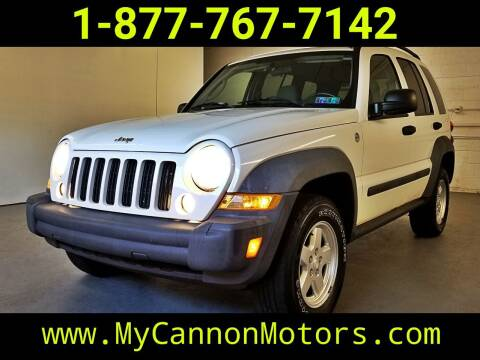 2007 Jeep Liberty for sale at Cannon Motors in Silverdale PA
