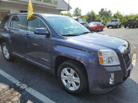 2013 GMC Terrain for sale at Shaddai Auto Sales in Whitehall OH