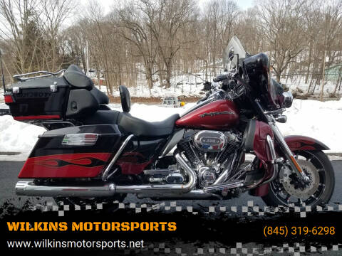 2011 Harley-Davidson Electra Glide for sale at WILKINS MOTORSPORTS in Brewster NY