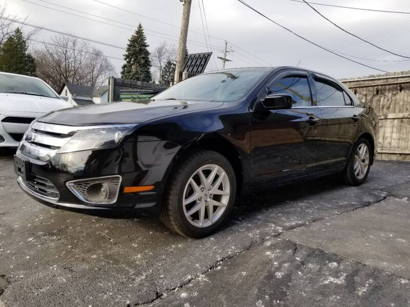 2012 Ford Fusion for sale at DALE'S AUTO INC in Mt Clemens MI