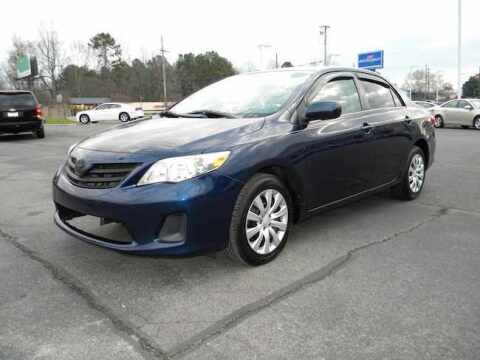 2013 Toyota Corolla for sale at Paniagua Auto Mall in Dalton GA