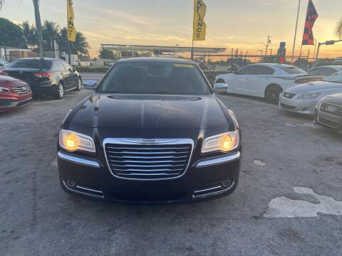 2012 Chrysler 300 for sale at America Auto Wholesale Inc in Miami FL