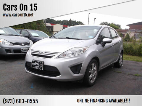 2013 Ford Fiesta for sale at Cars On 15 in Lake Hopatcong NJ