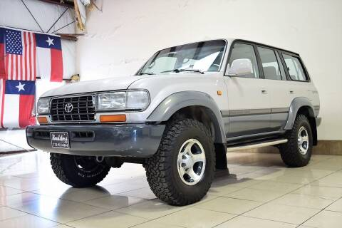 1995 Toyota Land Cruiser for sale at ROADSTERS AUTO in Houston TX