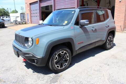 2016 Jeep Renegade for sale at BROADWAY FORD TRUCK SALES in Saint Louis MO