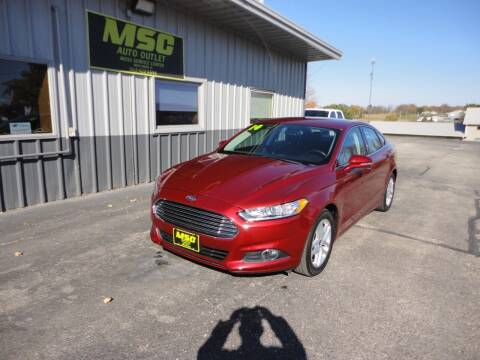 2014 Ford Fusion for sale at Moss Service Center-MSC Auto Outlet in West Union IA