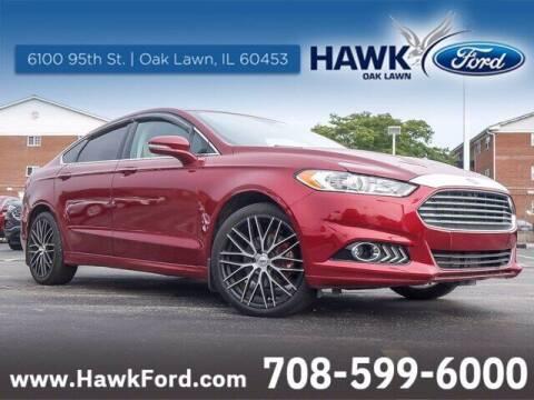 2014 Ford Fusion for sale at Hawk Ford of Oak Lawn in Oak Lawn IL