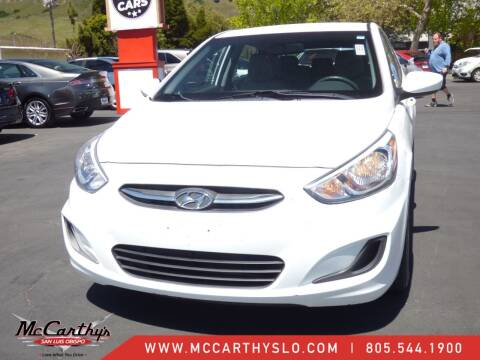 2015 Hyundai Accent for sale at McCarthy Wholesale in San Luis Obispo CA