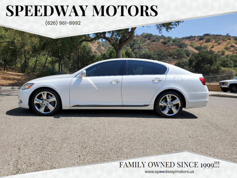2008 Lexus GS 350 for sale at Speedway Motors in Glendora CA