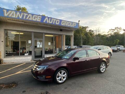 2012 Ford Fusion for sale at Vantage Auto Group in Brick NJ