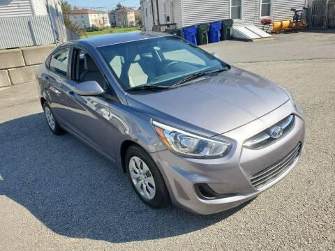 2016 Hyundai Accent for sale at Fortier's Auto Sales & Svc in Fall River MA