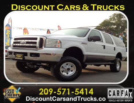 2005 Ford Excursion for sale at Discount Cars & Trucks in Modesto CA