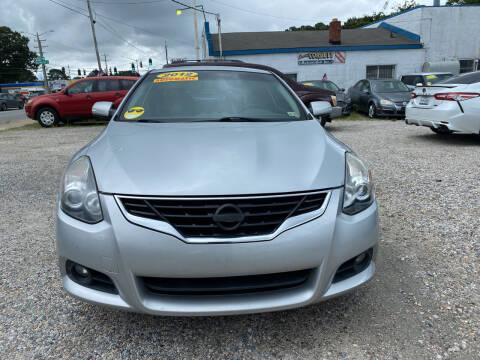 2012 Nissan Altima for sale at Advantage Motors in Newport News VA