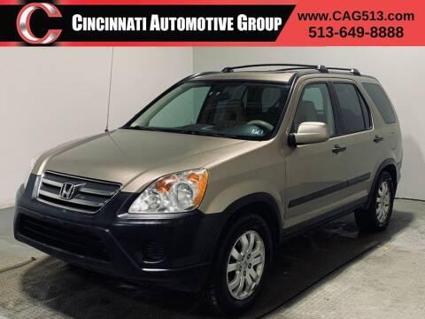 2005 Honda CR-V for sale at Cincinnati Automotive Group in Lebanon OH