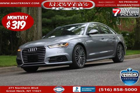 2018 Audi A6 for sale at European Masters in Great Neck NY