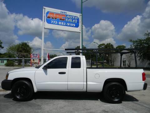2006 Dodge Dakota for sale at APC Auto Sales in Fort Pierce FL
