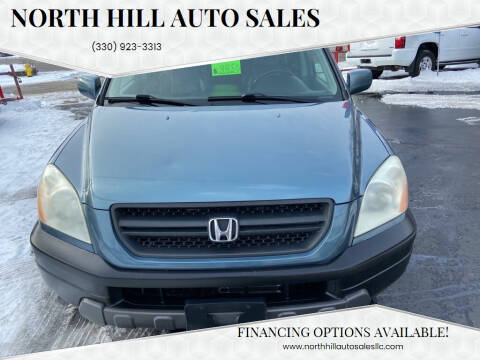 2005 Honda Pilot for sale at North Hill Auto Sales in Akron OH