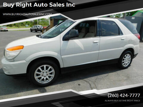 2006 Buick Rendezvous for sale at Buy Right Auto Sales Inc in Fort Wayne IN
