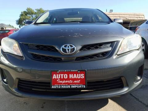 2011 Toyota Corolla for sale at Auto Haus Imports in Grand Prairie TX
