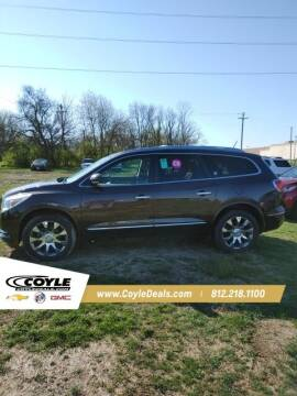 2017 Buick Enclave for sale at COYLE GM - COYLE NISSAN - New Inventory in Clarksville IN