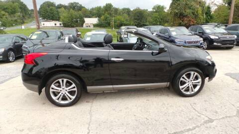 2011 Nissan Murano CrossCabriolet for sale at Unlimited Auto Sales in Upper Marlboro MD