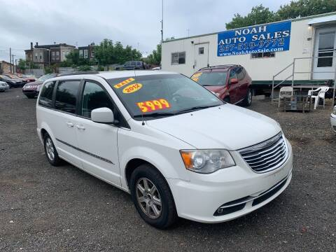 2012 Chrysler Town and Country for sale at Noah Auto Sales in Philadelphia PA