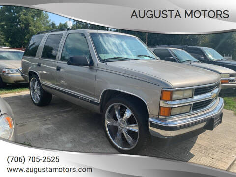 1999 Chevrolet Tahoe for sale at Augusta Motors in Augusta GA