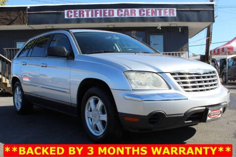 2006 Chrysler Pacifica for sale at CERTIFIED CAR CENTER in Fairfax VA