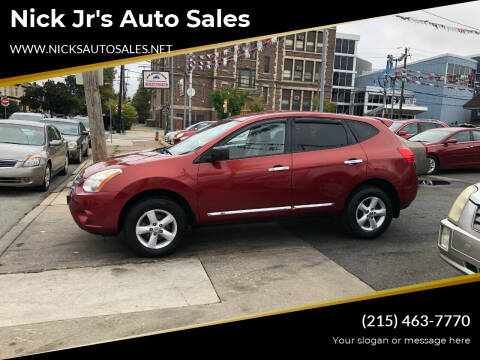 2012 Nissan Rogue for sale at Nick Jr's Auto Sales in Philadelphia PA