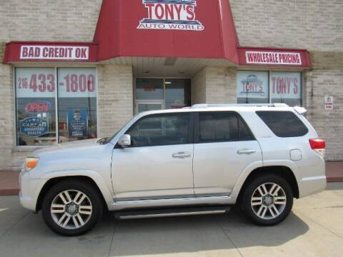 2011 Toyota 4Runner for sale at Tony's Auto World in Cleveland OH