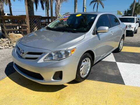 2011 Toyota Corolla for sale at D&S Auto Sales, Inc in Melbourne FL