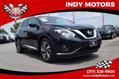 2018 Nissan Murano for sale at Indy Motors Inc in Indianapolis IN