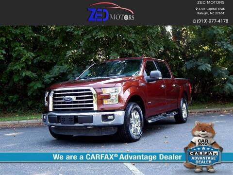 2015 Ford F-150 for sale at Zed Motors in Raleigh NC