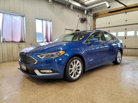 2017 Ford Fusion Energi for sale at Sand's Auto Sales in Cambridge MN