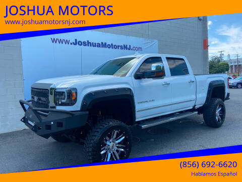 2016 GMC Sierra 3500HD for sale at JOSHUA MOTORS in Vineland NJ